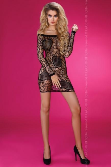 Сексуальное платье с сердечками Adrienne Livia Corsetti Livia Corsetti