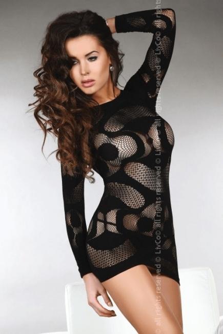 Эротическое платье с длинным рукавом Ava Livia Corsetti Livia Corsetti
