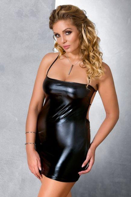 Платье из латекса Beltis dress Passion size plus Passion