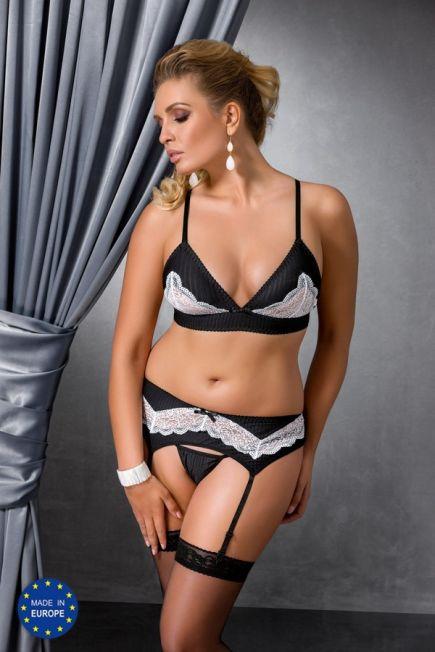 Комплект соблазнительного женского белья Camille Set size plus Passion