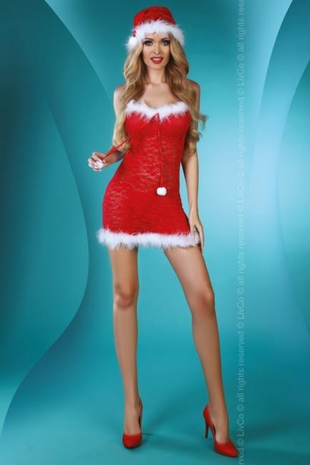 Костюм снегурочки для ролевых игр Christmas star Livia Corsetti Livia Corsetti