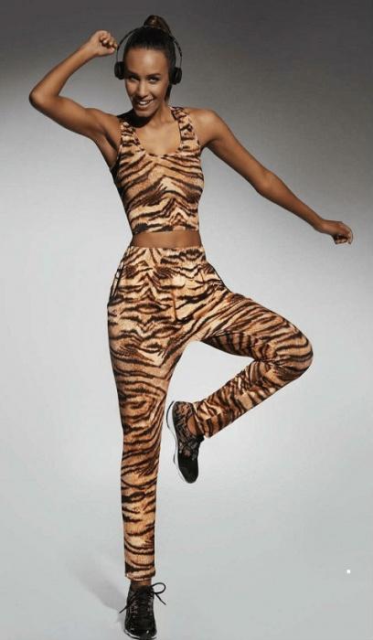 Спортивные штаны с тигровым принтом Cool Bas Bleu BasBleu