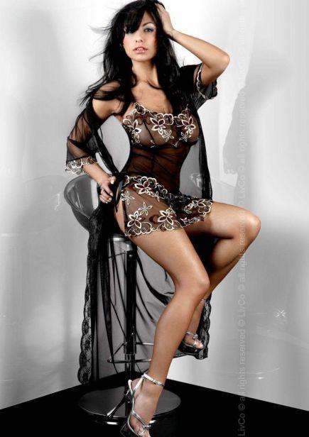 Прозрачный халатик Hera Dressing Gown Livia Corsetti Livia Corsetti