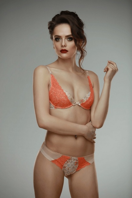 Бюстгальтер Irys orange Bra L'AMORE LAMORE