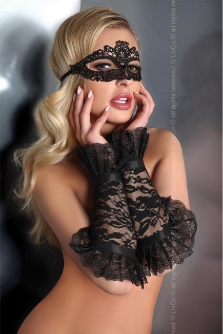 Ажурные черные перчатки 13 Livia Corsetti Livia Corsetti