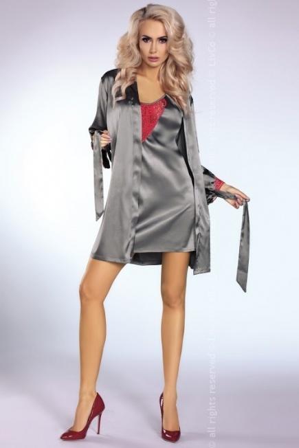Комплект халат и сорочка Platinum Red Livia Corsetti Livia Corsetti