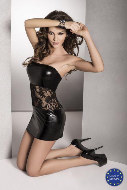 Платье из латекса без бретелек Sati  black Passion Passion