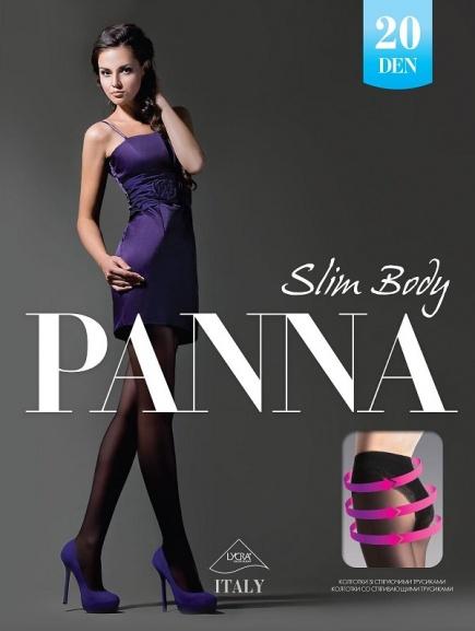 Колготки бикини Slim Body 20 den Panna (несколько цветов) Panna