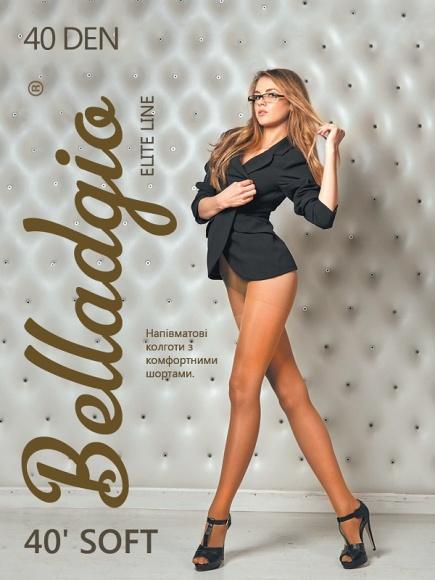 Матовые колготки Soft 40 den Belladgio Belladgio