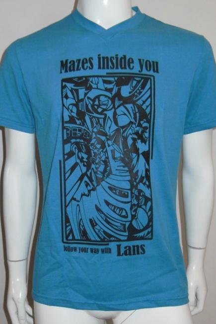 Мужская футболка с коротким рукавом L 12/0013 Lans (несколько цветов) Lans