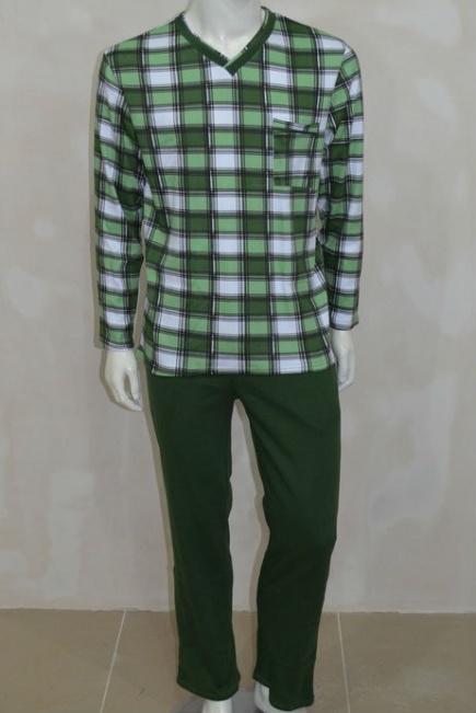 Мужская хлопковая пижама L 52/0011 Lans Lans