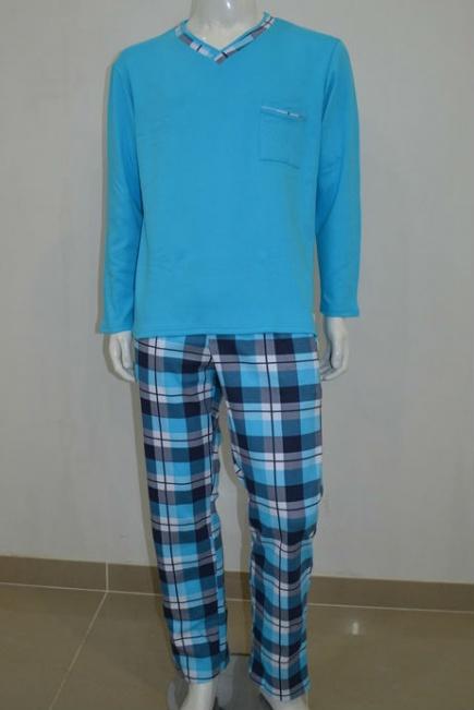 Мужская хлопковая пижама L 52/002 Lans Lans
