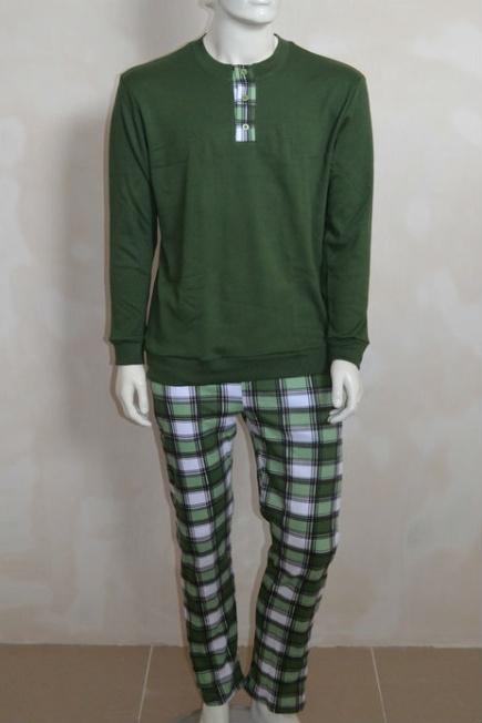 Мужская хлопковая пижама L 52/004 Lans Lans