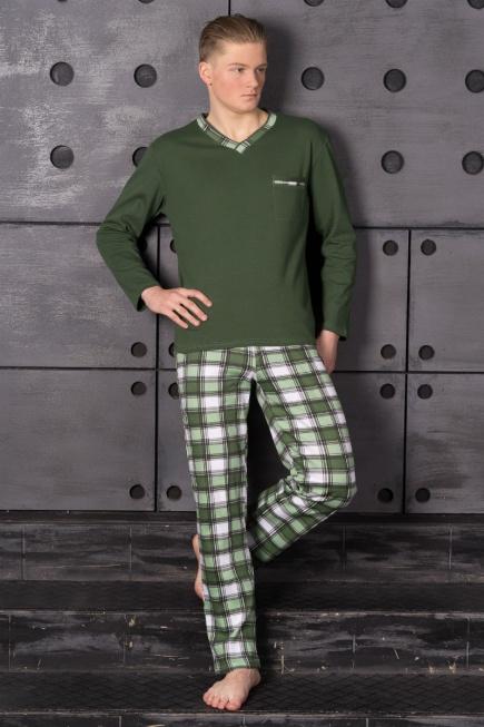 Мужская хлопковая пижама L 52/006 Lans Lans