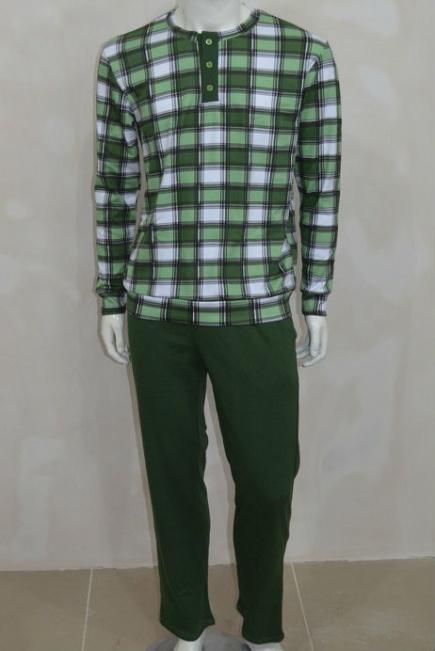 Мужская хлопковая пижама L 52/009 Lans Lans