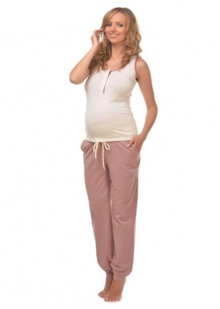 Пижама для беременных и кормящих 24131 Мамин дом  Мамин дом