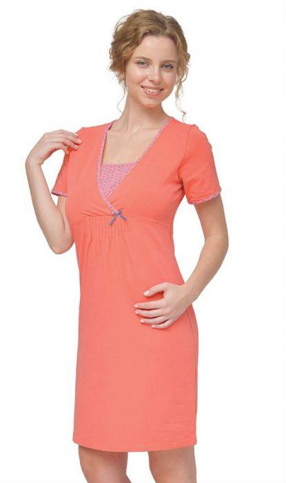 Ночная рубашка для беременных и кормящих 24160 Мамин дом Мамин дом