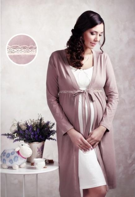 Халат для беременных и кормящих 25303 Мамин дом Мамин дом