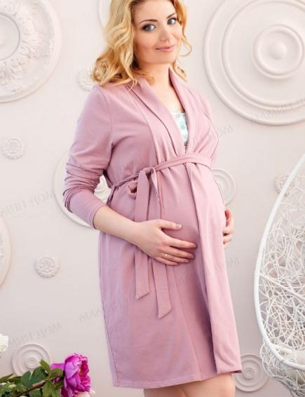 Халат для беременных и кормящих 25304 Мамин дом Мамин дом