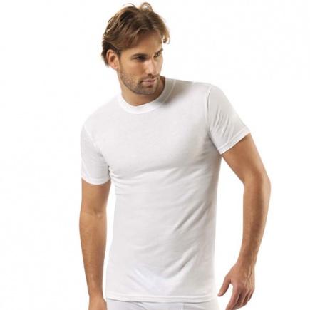 Однотонная хлопковая футболка 104 Jiber Jiber