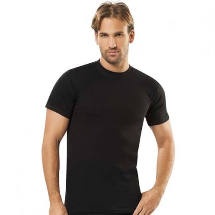 Однотонная хлопковая футболка 111 Jiber Jiber
