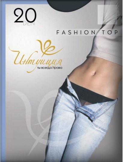 Колготки с заниженной талией Fashion top 20den Интуиция Интуиция