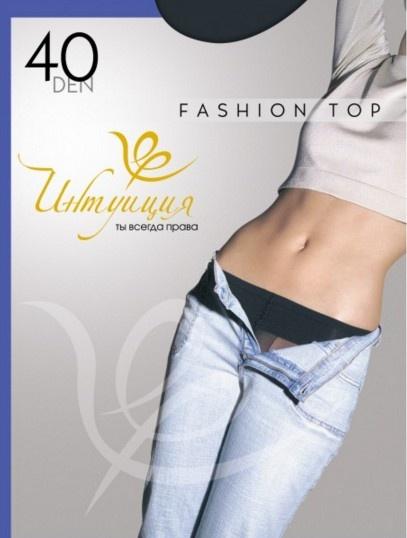 Колготки с заниженной талией Fashion top 40den Интуиция Интуиция