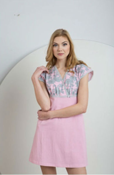 Женская трикотажная  ночная сорочка LND 065/002 Ellen Ellen