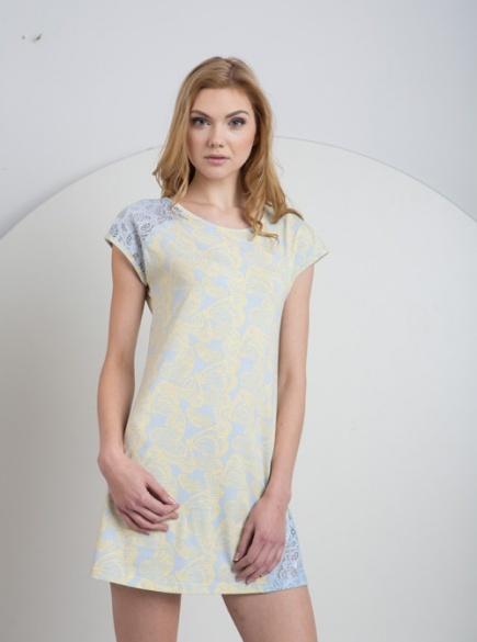 Женская хлопковая ночная сорочка LND 073/001 Ellen Ellen