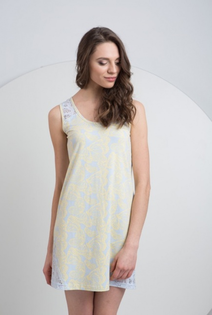 Женская хлопковая ночная сорочка LND 074/001 Ellen Ellen