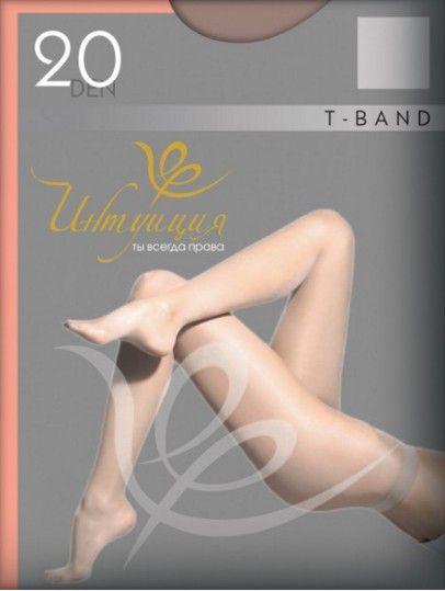 Шелковистые колготки T-band Premium 40den Интуиция Интуиция