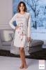 Фото - Розовая хлопковая ночная сорочка DD862 rosa Cotonella Cotonella купить в Киеве и Украине