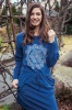 Фото - Теплое флисовое домашнее платье/ночная сорочка LHD 008 B8 Key Key купить в Киеве и Украине