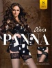 Фото - Чулки с кружевом на силиконе Olivia 8den Panna Panna купить в Киеве и Украине