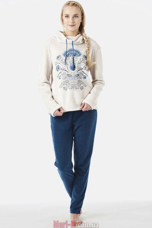 Флисовая женская пижама домашний костюм LHS 590 B8 Key Key купить в ... 3c9780546ca73